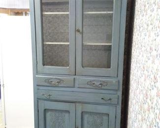 Vintage Painted Hutch