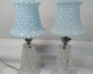 vintage dresser lamps