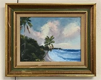 "22 1/2"" x 18 1/2"" Highwaymen - Charles Chico Wheeler Signed. 1946-2019"