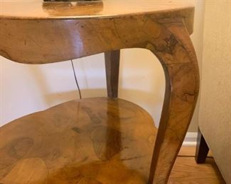 Lot #801 - (another view of side table)