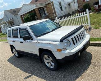 2013 Jeep Patriot- has Salvage Title