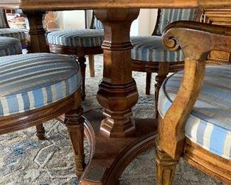 Pedestal table legs