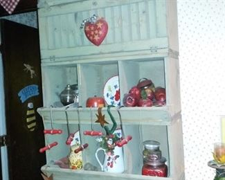 Vintage Seed Bin Cabinet