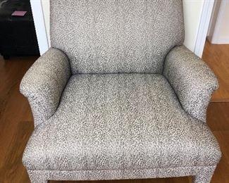 Addie chair, animal print $200