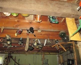 Tons of Fishing Reels, Rods & Lures