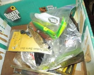Tons of Fishing, Reels, Lures, Rods and more