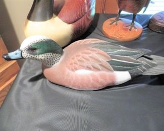 FINE CARVED AND SIGNED DECOYS