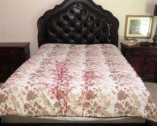 Bernhardt Queen Bed $800.00 (like new, still has tags on it)