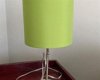 Lime green lamp $5.00