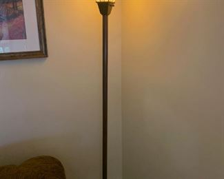 Mission style floor lamp