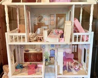 4 story Dollhouse - Barbie size