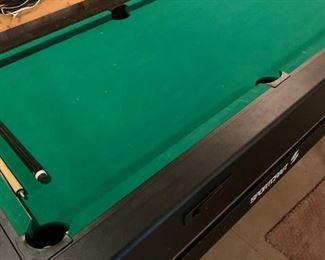 Table converts from pool, air hockey, ping-pong