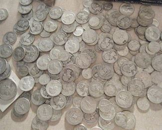 Silver coins to be sold