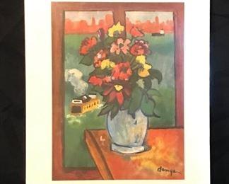 "by Jack Demyan, Watercolor, 16"" x 20"" unframed."