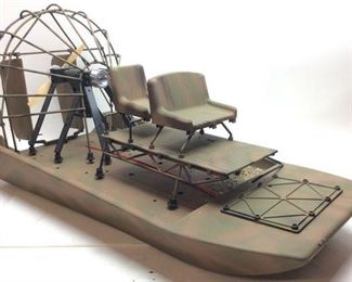 K & S RC AIRBOAT PACER 1/6 SCALE