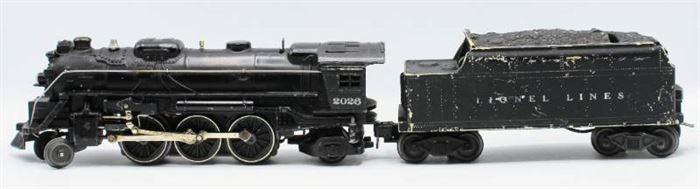 Lionel 2026 Locomotive Die Cast Metal Train 6466W Tender