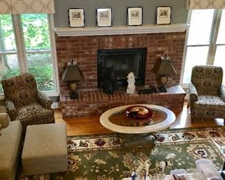 Living area full of Fine Furnishings