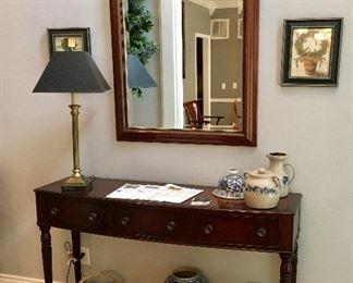 Baker Furniture Foyer/Sofa Table.