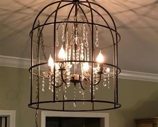 Excellent Swag Ceiling Crystal Chandelier Lamp.