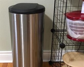 Steel Trash Container