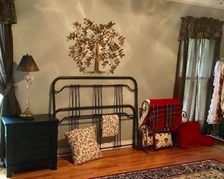 Very Fine Clean Bedroom items & Wall decor.