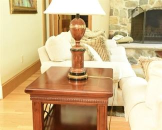 """End Table (Matches Coffee Table) $65 2'4"""" wide, 2'1"""" long, 2' tall"""