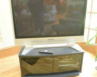 Panasonic HD Plasma TV   $50 September 2006, model TH-42PX60U TV Stand $45