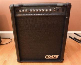 """Crate BX50 DLX   $65 2-Channel 50-Watt 1x12"""" Bass Combo Amp"""