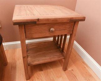 Cargo nightstand $45