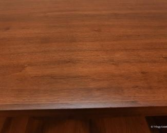 """Teak MCM style desk $75 Missing a handle on top right drawer. 5' x 2'5"""" x 2'6"""""""