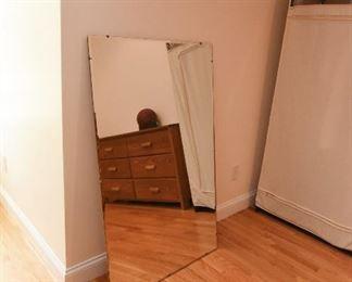 Large bevel edge mirror $15