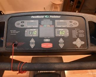 PaceMaster treadmill $125