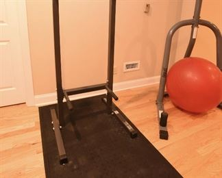 Exercise thing with mat  $55