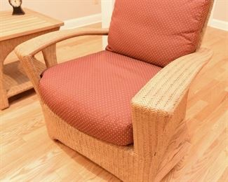 Wicker Chair $100 For indoor, or covered porch use.