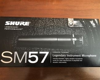 Shure SM57 Instrument Microphone $55