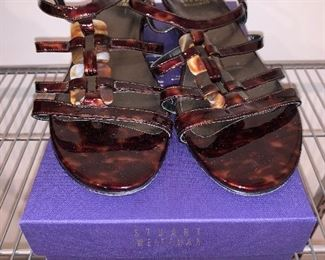 Stuart Weitzman sandals size 7.5 in great condition $95
