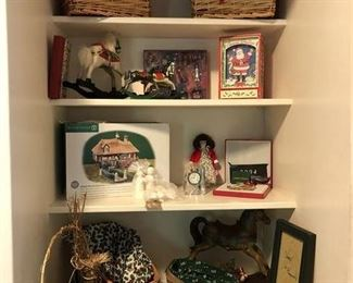 Little Bit of Holiday!  Longaberger Sleigh Baskets