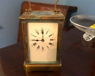 19th century Aiguilles Carriage clock