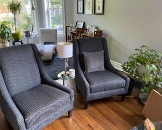 Set of Room and Board accent chairs