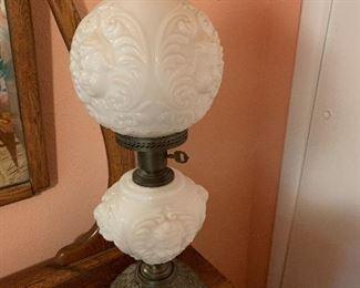 hurricane cherub lamp