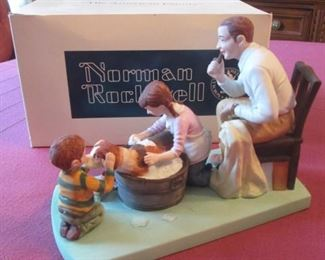 Norman Rockwell Figurine