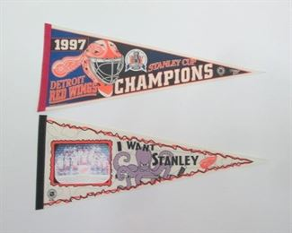 Detroit Red Wing Banner
