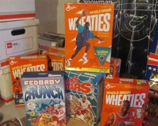 Sports Cereal Collectables