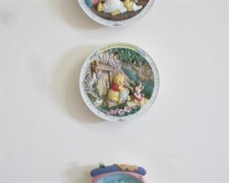 Walt Disney Plates