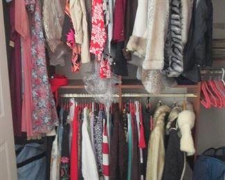 Assortment of Ladies Clothes