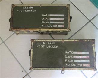 GI Joe Foot Lockers
