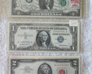 Uncirculated Bills