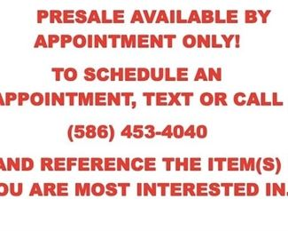 CALL OR TEXT 586.453.4040 TO SCHEDULE YOUR APPOINTMENT