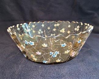 Moser glass bowl