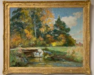 "Mathias Joseph Allen ""Rum Creek"" 26x32 canvas - $8,500"